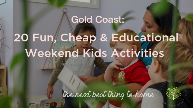 20 Ideas for Cheap, Easy and Educational Weekend Activities!